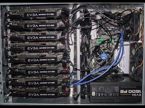 Custom 4U Server Rack Mining Rig 8X1060!