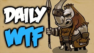 Dota 2 Daily WTF - Funny Hill