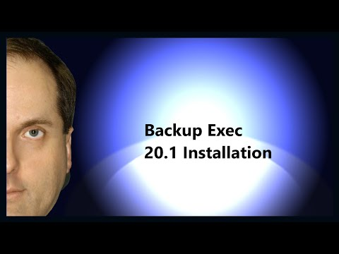 Backup Exec 20 Installation