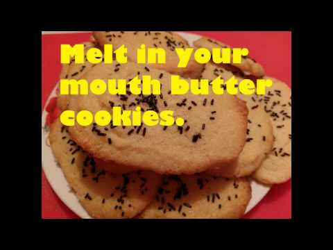 Easy Melt In Your Mouth Butter Cookies