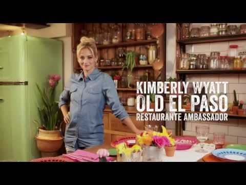 Kimberly Wyatt Teaches How To Cook Like The Locals - Old El Paso