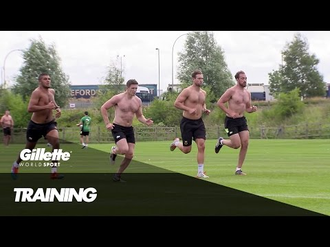How Rugby Training Has Been Revolutionized | Gillette World Sport