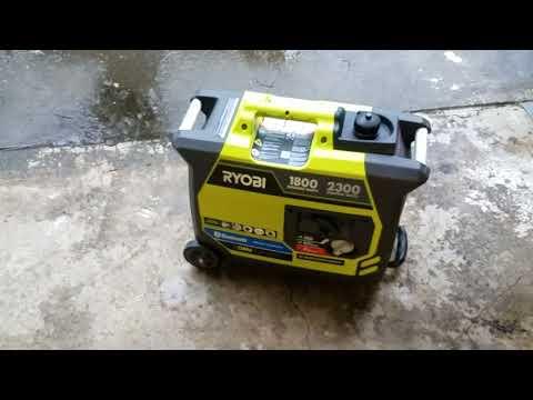 Ryobi 1800 / 2300 Watt Inverter Generator Review