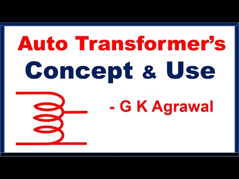 Auto Transformer working principle, how Variac works, Uses