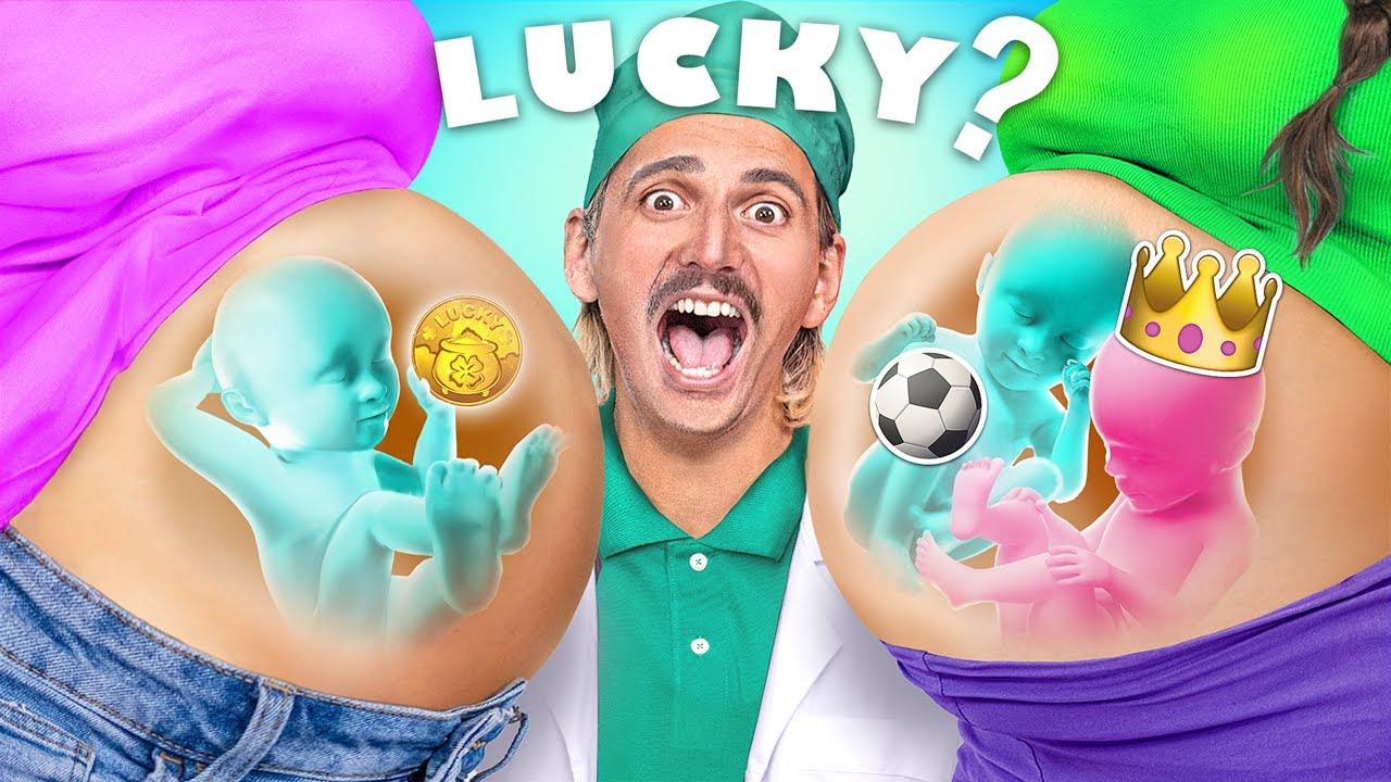 Lucky vs Unlucky Pregnant!