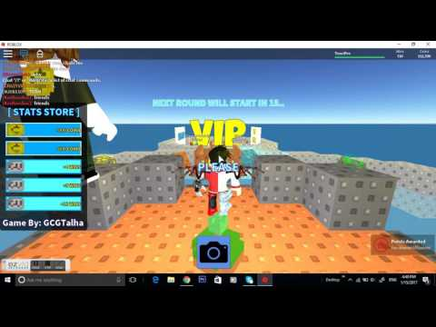 ALL THE GLITCHES ON ROBLOX SKYWARS ! ! !