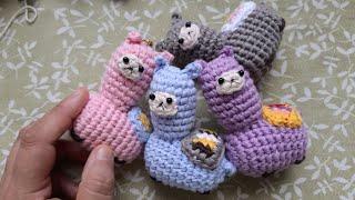 Llama de crochet | CrochetyAmigurumis.com | 180x320