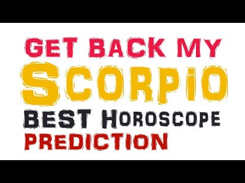 How To Get a Scorpio Man or Woman BACK After a Break Up