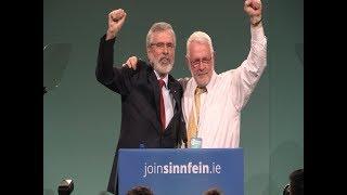 Gerry Adams historic speech to Sinn Féin Ard Fheis