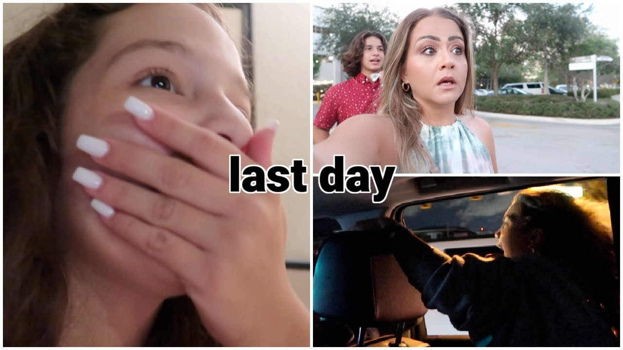 OUR LAST DAY .. HE WAS SO SCARED !!! | VLOG#1084
