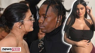 Kylie Jenner Posts PREGNANCY Photo After Flirting With Travis Scott!