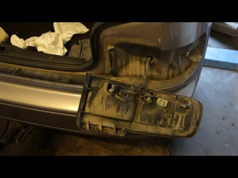 How to replace rear brake light bulb Toyota Camry. Years 1990-2002