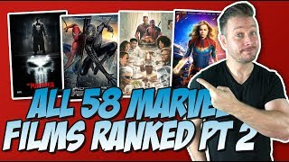 Download All 58 Marvel Movies Ranked Part 2 (40 to 21) Video