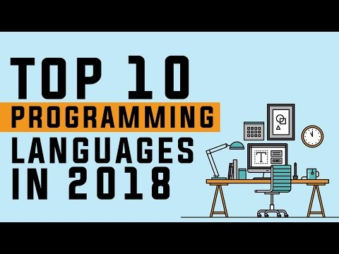 Top 10 Programming Languages to Learn in 2018 - Best Programming Languages to learn in 2018
