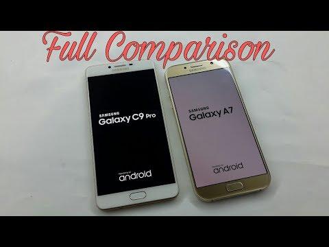 Galaxy C9 Pro Vs A7 2017 full Comparison