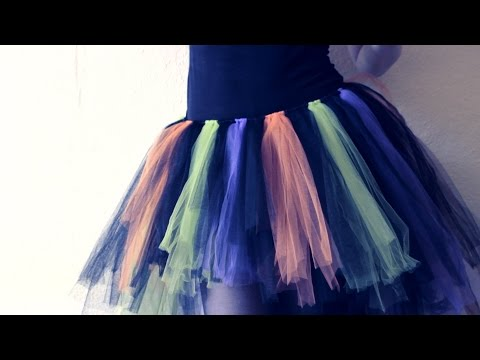 How to Make a Tutu Skirt {NO SEW} with Last Minute Option!
