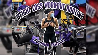 Weight loss workout routine   What I did at the gym to help me lose 70+ pounds   BEGINNER FRIENDLY