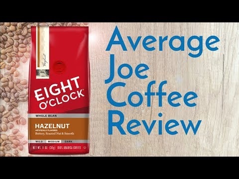 Eight O'Clock Hazelnut Coffee Review