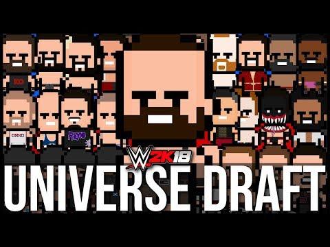 WWE 2K18 | Universe Mode - THE DRAFT (Series 1)