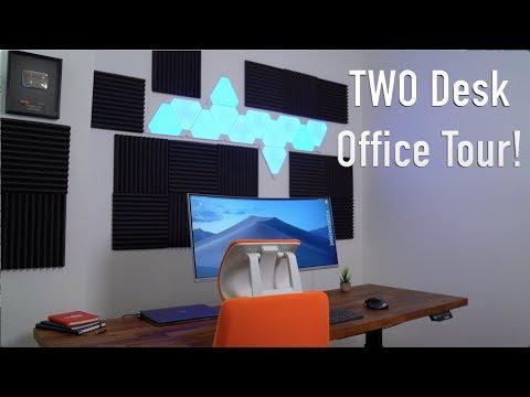 My ULTIMATE Office Setup Tour: TWO Desks!