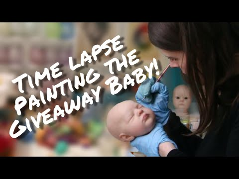 Making The FREE Giveaway Reborn Baby!