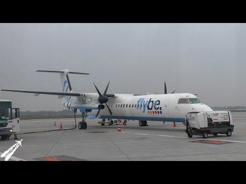 BE7211 Full Flight   MAN-DUS   Flybe Bombardier Dash 8 Q400