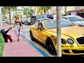 Download  HOMELESS in GOLD BENTLEY Part 3 MIAMI Gold Digger Prank Social Experiment MP3,3GP,MP4