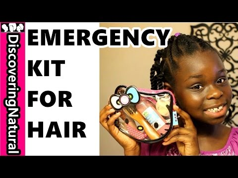 Natural Hair Emergency Kit | Back To School