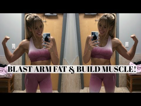 BLAST ARM FAT & BUILD MUSCLE | Dumbbells only! | Biceps & Triceps