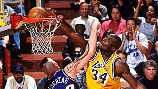 Shaquille O'Neal Lakers Mixtape! Hall Of Famer Gets Statue At Staples