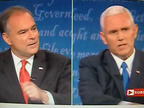 VP Debate Mike Pence