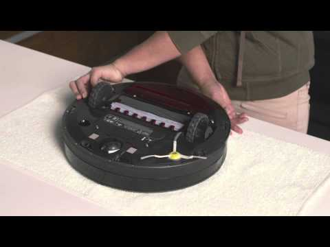 Sensor maintenance for iRobot Roomba 980 Robot Vacuum