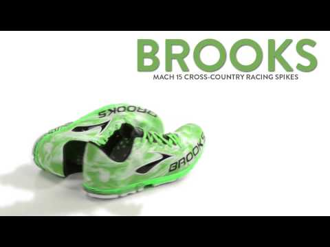 Brooks Mach 15 Cross-Country Racing Spikes (For Men)