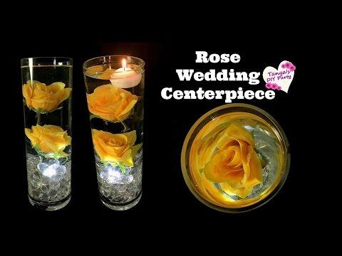 Rose Wedding Centerpiece Tutorial
