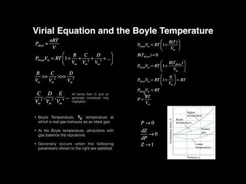 Virial Equation of State & The Boyle Temperature