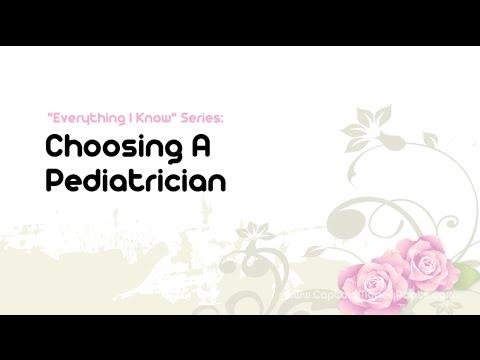 Tips for Choosing a Pediatrician