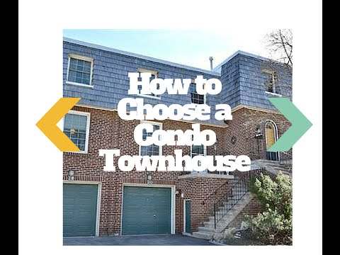 Selling Toronto Episode #3 : How to Choose a Condo Townhouse