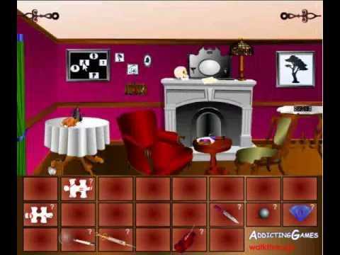Sherlock Holmes Escape - Walkthrough/Tutorial - Addicting Games