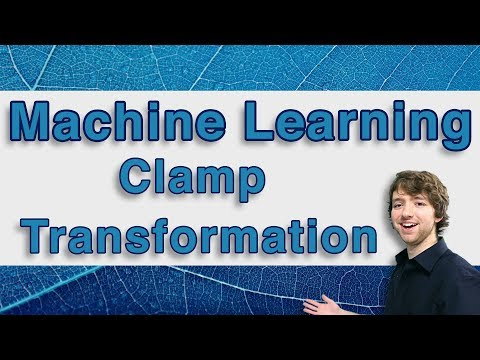 Machine Learning and Predictive Analytics - Clamp Transformation - #MachineLearning