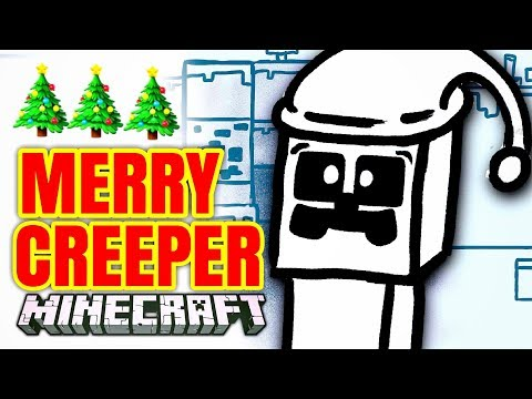 Minecraft ANIMATION- (CHRISTMAS Special) MERRY CREEPER!