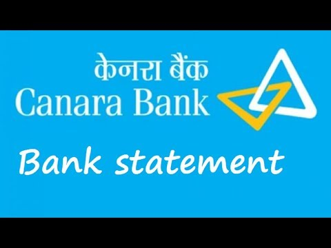 How to download or check canara bank account statement online(Hindi)