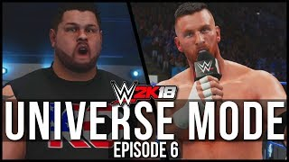WWE 2K18 | Universe Mode -