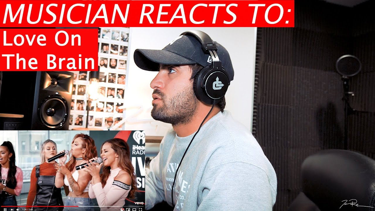 """Little Mix - """"Love on The Brain"""" (Cover) - Musician Reacts"""