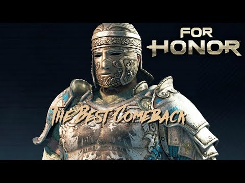 ONE OF THE BEST FOR HONOR COMEBACKS - For Honor (Rep 8 Centurion)