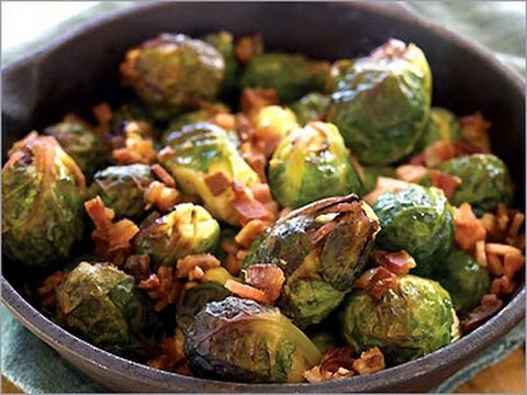 Oven-roasted bacon brussel sprouts- Ketogenic Recipe