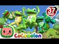 Five Little Speckled Frogs More Nursery Rhymes Kids Songs CoCoMelon