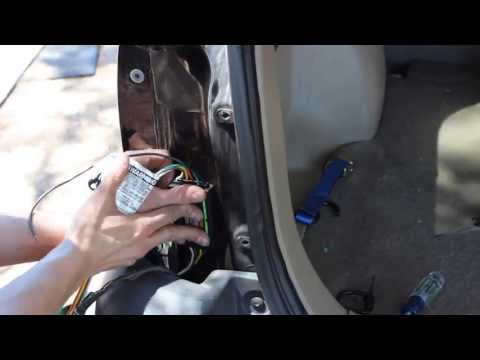 Installing a Curt #56075 Trailer wiring kit
