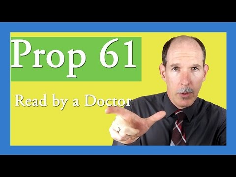Proposition 61 Comments by Dr. Vaughan |