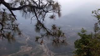 From the top of geyzing road..