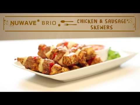 Chicken & Sausage Skewers
